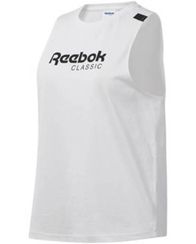 Topy, tričká, tielka Reebok Sport