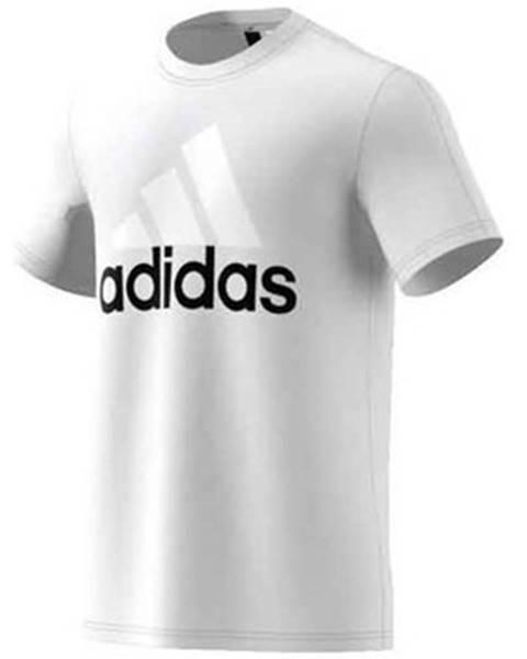 Biele tričko adidas