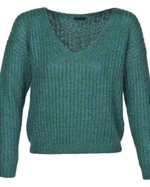 Zelený sveter Ikks