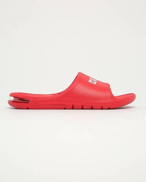 Červené sandále Big Star