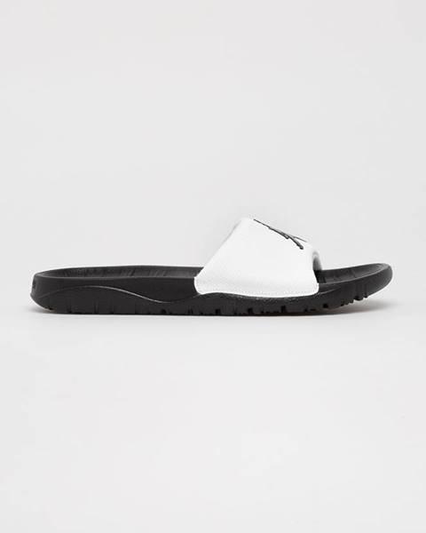 Biele sandále Jordan