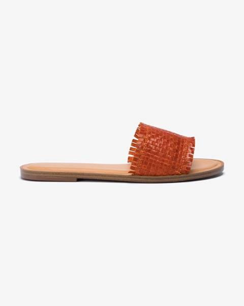 Oranžové sandále Aldo