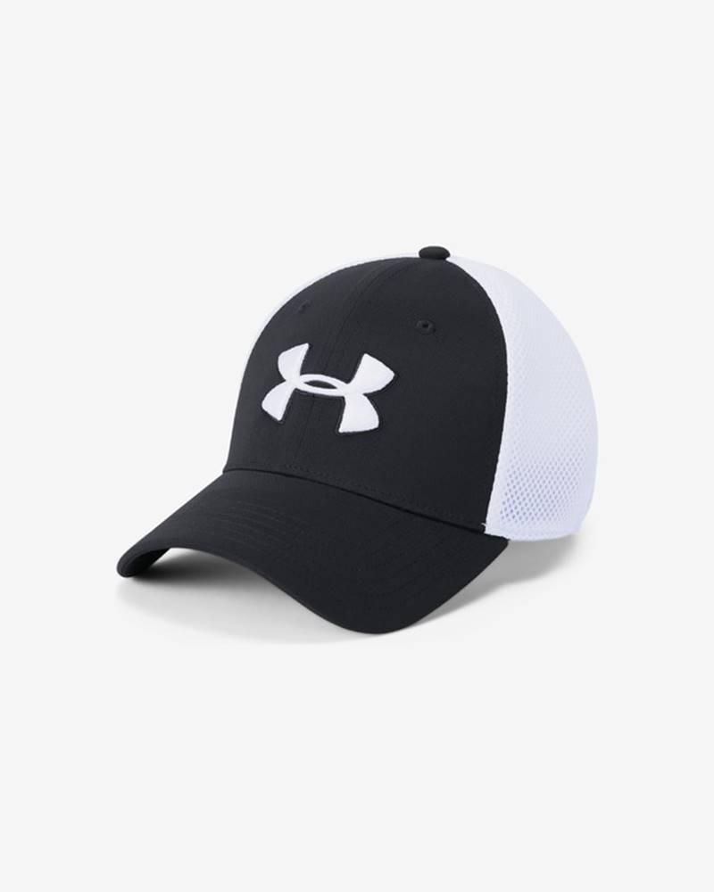 Under Armour Microthread™ Golf Šiltovka Čierna Biela