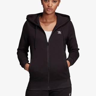 Trefoil Essentials Zip Mikina adidas Originals Čierna
