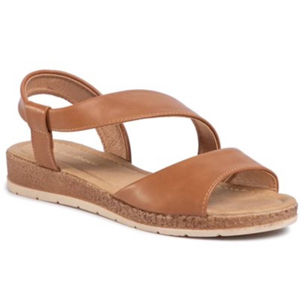 Clara Barson Sandále  WS2795-02 koža ekologická