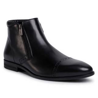 Členkové topánky  MI08-C770-768-06 koža(useň) lícová