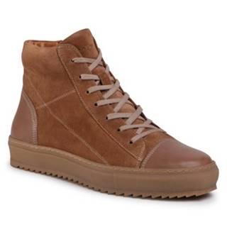 Šnurovacia obuv  MI08-C798-800-01 koža(useň) zamšová