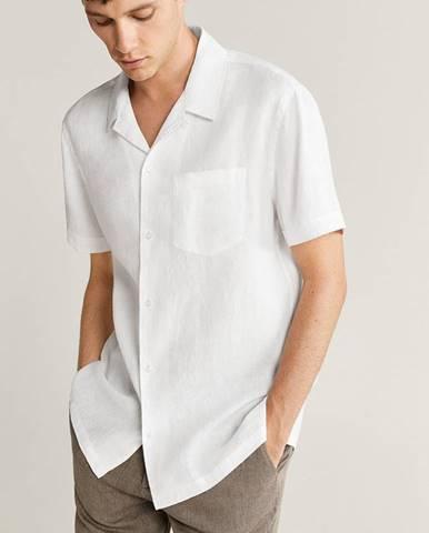 Biela košeľa Mango Man