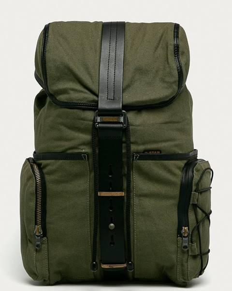 Zelený batoh G-Star Raw