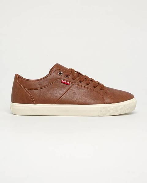 Hnedé topánky Levi's