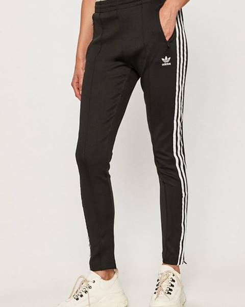 Čierne nohavice adidas Originals