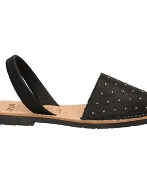 Čierne sandále Ria