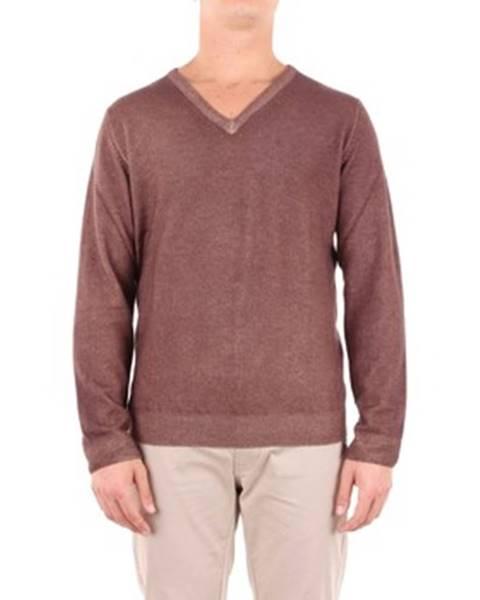 Viacfarebný sveter Angelo Marino