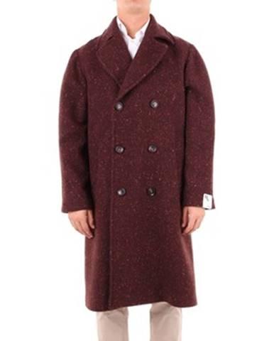 Viacfarebný kabát Doppiaa