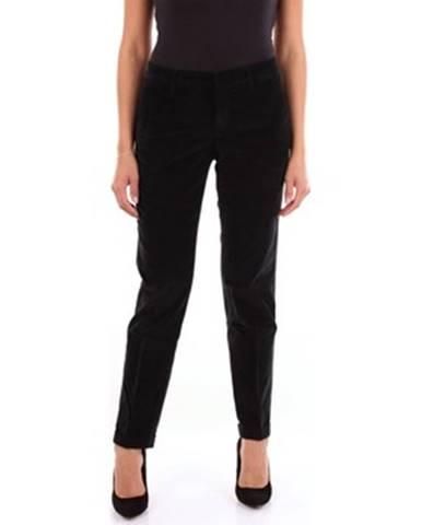 Čierne chino nohavice Fay