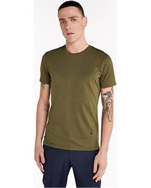 Zelené tričko Patrizia Pepe