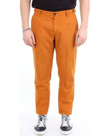 Oranžové nohavice White Sand