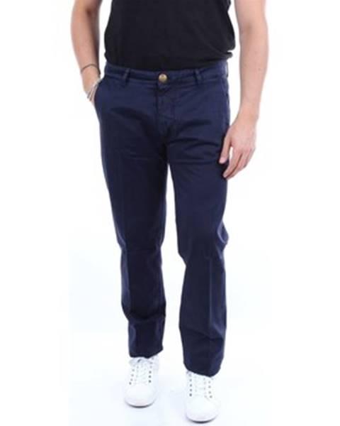 Modré nohavice Barba Napoli