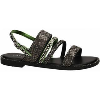 Sandále  SANDALO FRATE CON STRASS