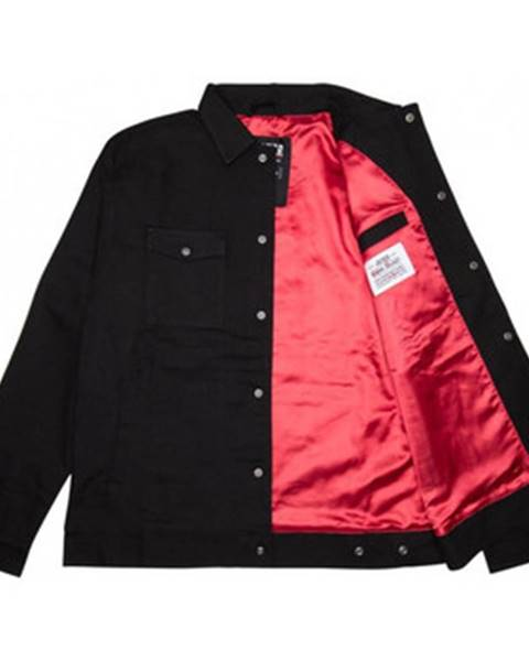Čierna bunda Jacker
