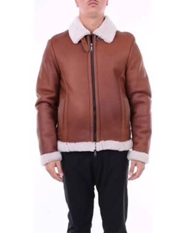 Hnedý kabát Emanuele Curci