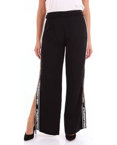 Čierne nohavice Karl Lagerfeld