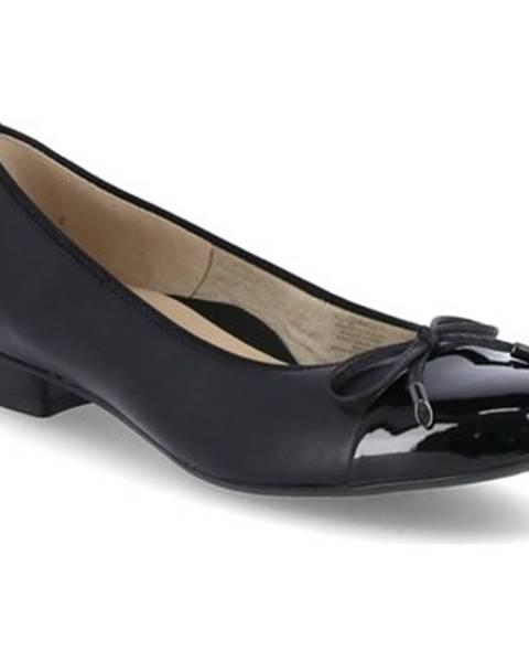 Čierne balerínky Ara