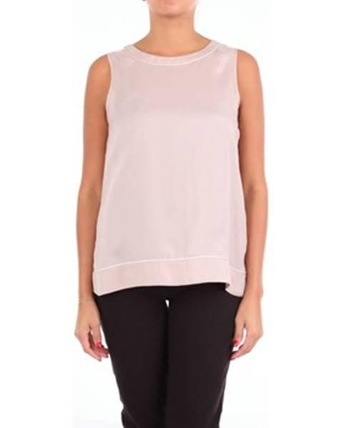 Béžové tričko Cappellini
