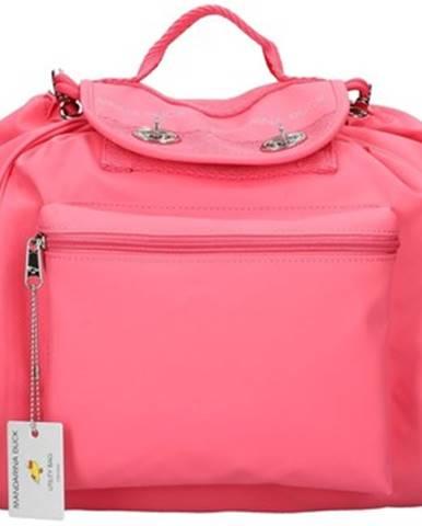 Ružový batoh Mandarina Duck