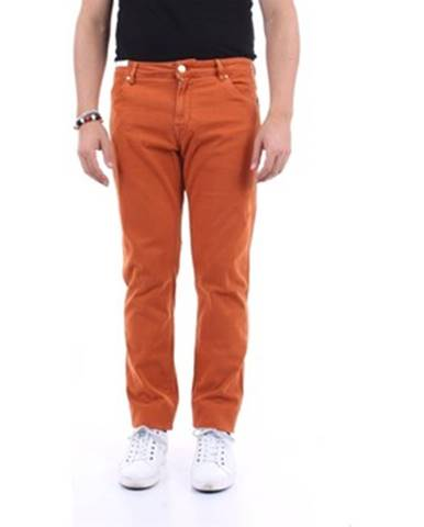 Oranžové nohavice Pt Torino