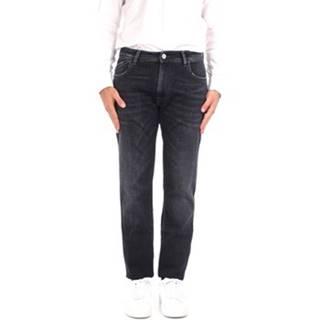 Rovné džínsy  P400272313937 BLACK