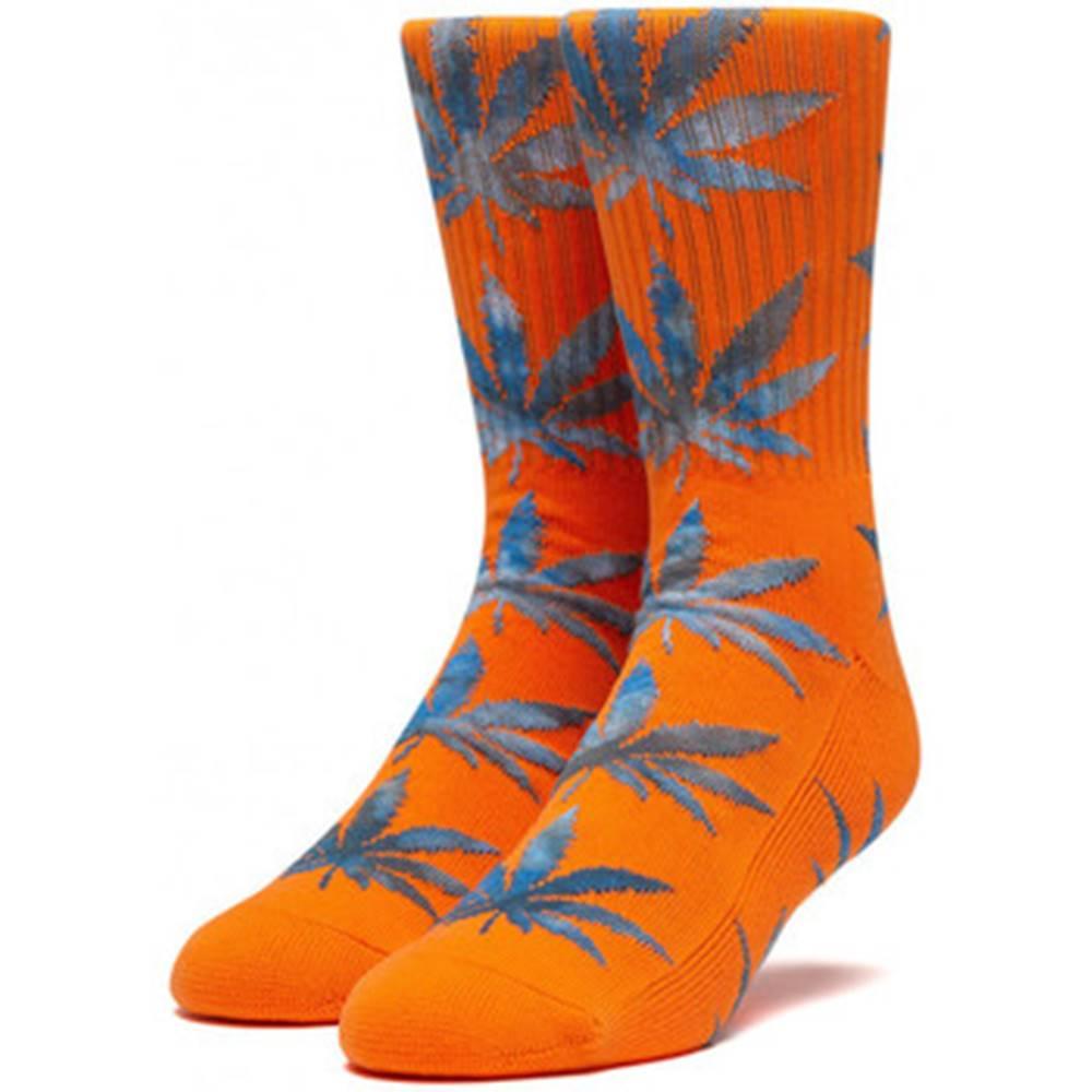 HUF Ponožky  Socks tiedye leaves plantlife