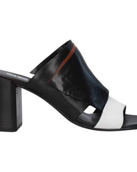 Čierne sandále Progetto