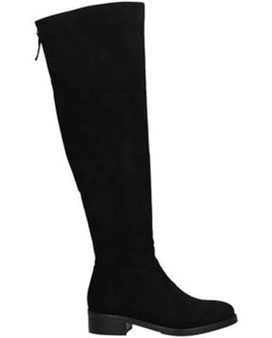 Čierne čižmy Luciano Barachini