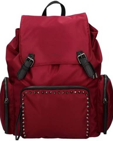 Červený batoh Pauls Boutique London
