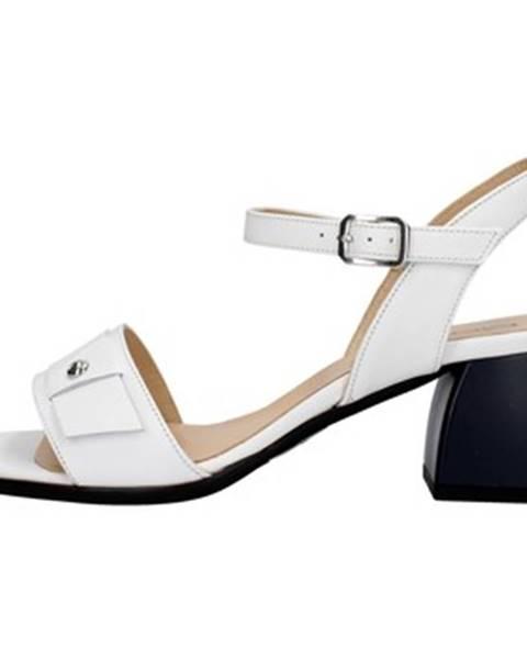 Biele sandále Mot-Cle'