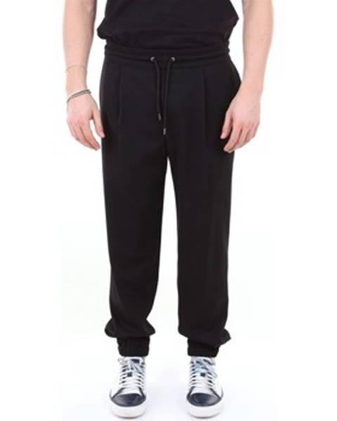 Čierne nohavice McQ Alexander McQueen