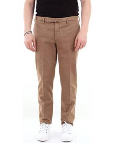 Béžové nohavice Incotex