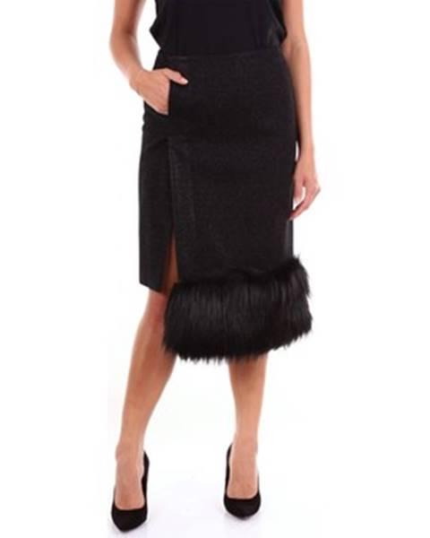 Čierna sukňa Marco De Vincenzo