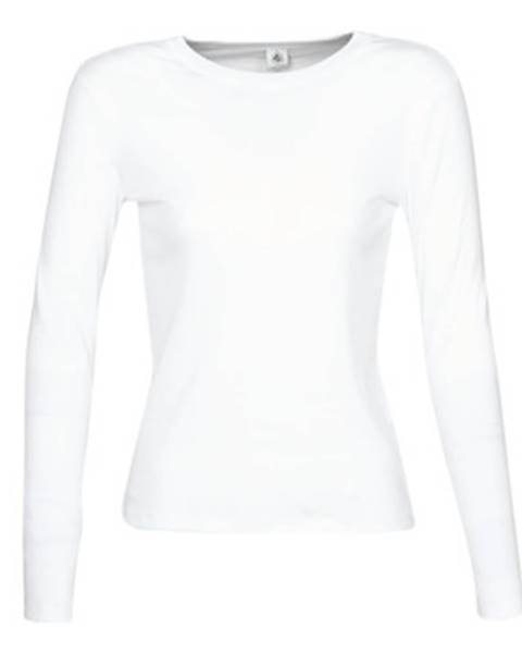 Biele tričko Petit Bateau