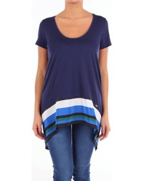Modré tričko Fay