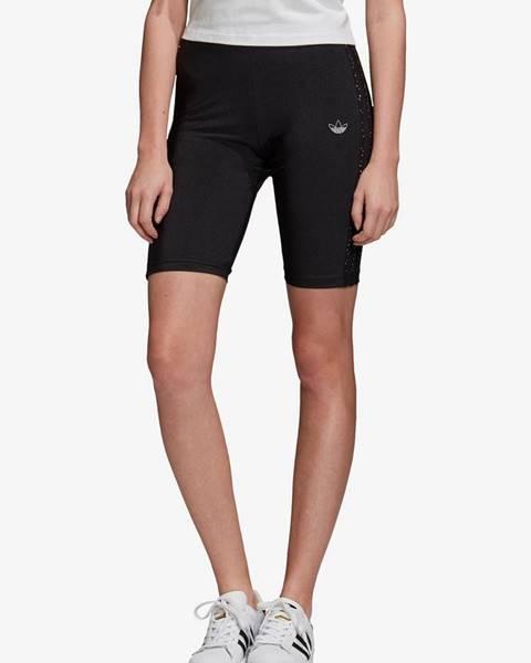 Čierne šortky adidas Originals