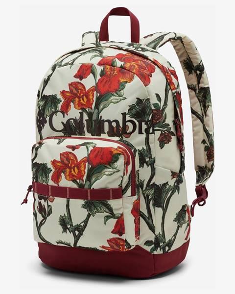 Červený batoh Columbia