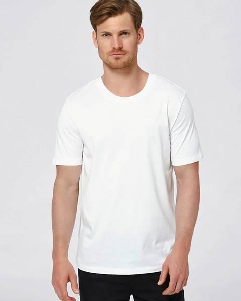 Biele tričko Selected Homme