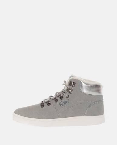 Sivé zimná obuv SAM 73