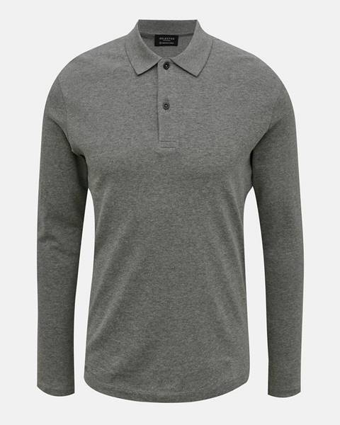 Sivá košeľa Selected Homme