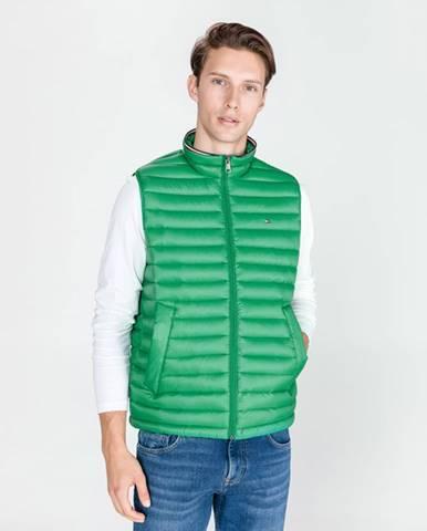 Zelený vesta Tommy Hilfiger