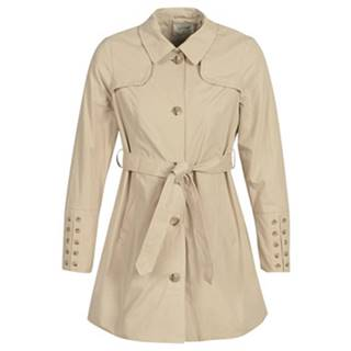 Kabátiky Trenchcoat Cream  ANNABELL