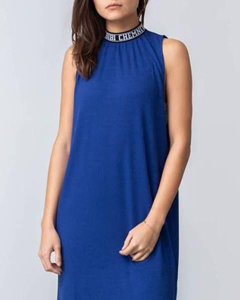 Rib Dress Blue