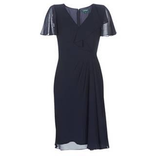 Dlhé šaty Lauren Ralph Lauren  CUTLER CAP SLEEVE DAY DRESS